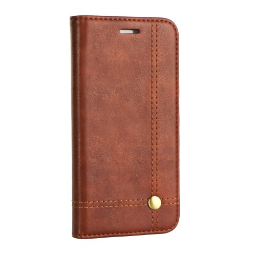 Калъф PRESTIGE Book - Xiaomi Mi Note 10 кафяв
