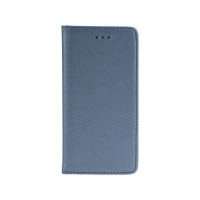 Калъф Smart Book - Huawei P Smart сив