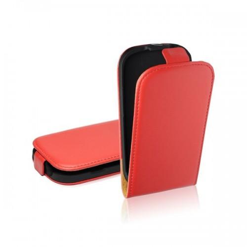 Калъф тефтер - Nokia Lumia 520 червен