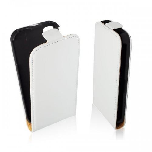 Калъф тефтер - Apple iPhone 5C бял