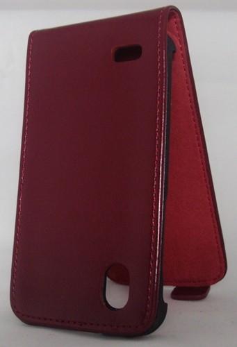 Калъф тефтер - Samsung Galaxy Note 2 вишнев