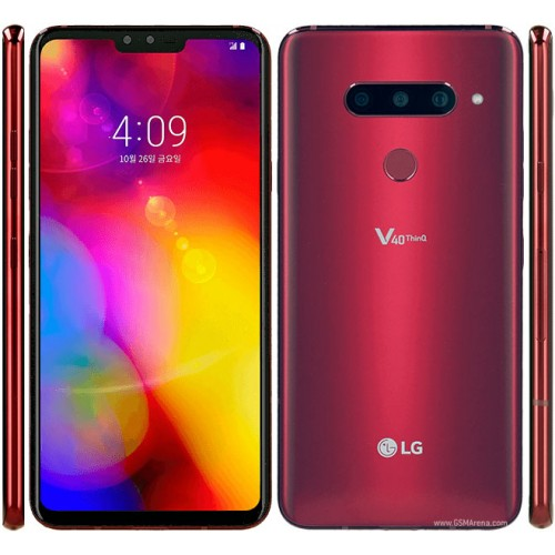 LG V40 ThinQ 128GB Dual V405 Red