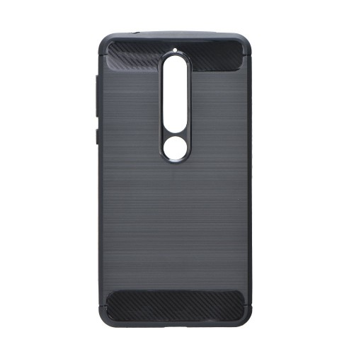 Калъф FORCELL Carbon - Nokia 6.1 2018 черен