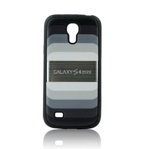 "Силиконов калъф ""Дъга"" - Samsung Galaxy s4 Mini черен"