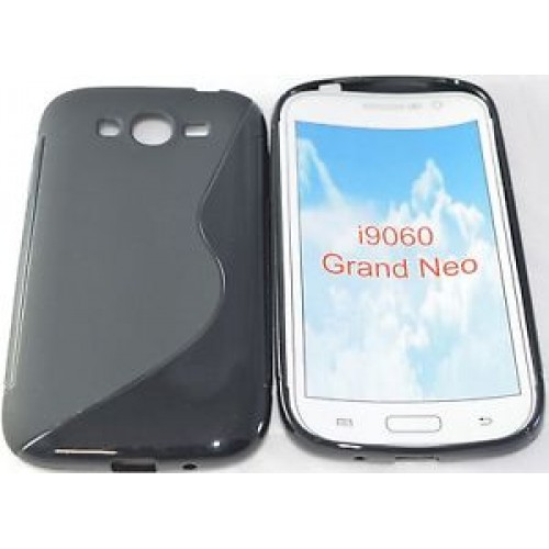 Силиконов гръб - Samsung Galaxy Grand Neo черен