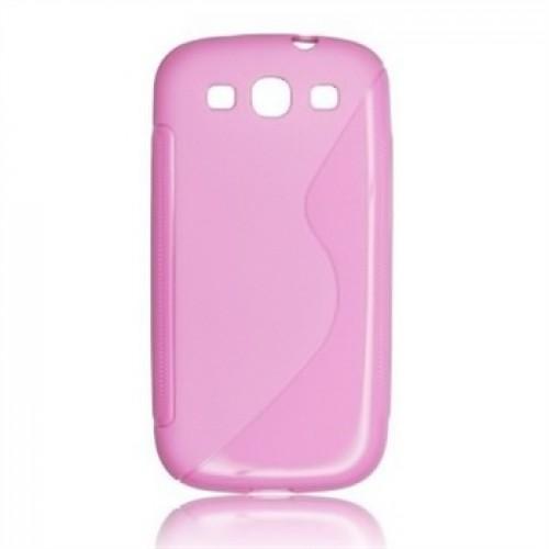 Силиконов гръб - Samsung Grand Neo розов