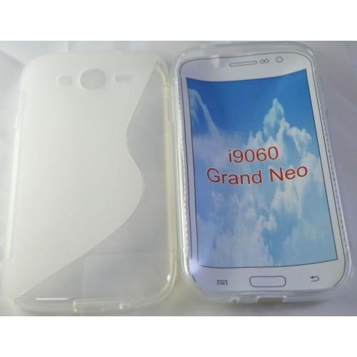 Силиконов гръб - Samsung Grand Neo прозрачен