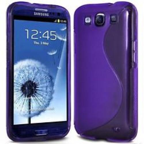 Силиконов гръб - Samsung Grand Neo лилав