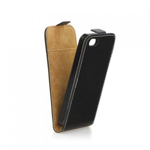 Калъф Flip Case Slim Flexi Fresh - Apple Iphone 5C черен