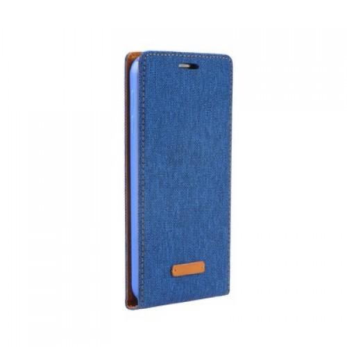 Калъф Flip Case Canvas Flexi Huawei P8 Blue син