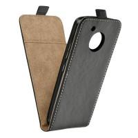 Калъф Flip Case Slim Flexi Fresh - Len Moto E4 черен