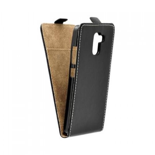 Калъф Flip Case Slim Flexi Fresh - HTC U12 Plus черен