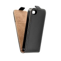 Калъф Flip Case Slim Flexi Fresh - Apple Iphone 5 черен