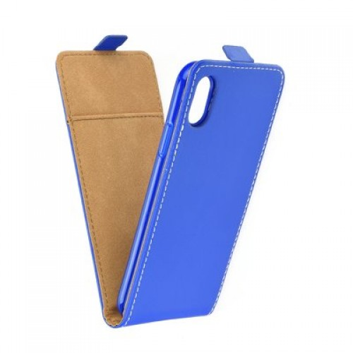 Калъф Flip Case Slim Flexi Fresh - Huawei Honor 8A син