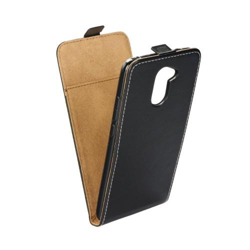 Калъф Flip Case Slim Flexi Fresh - Huawei Y7 черен