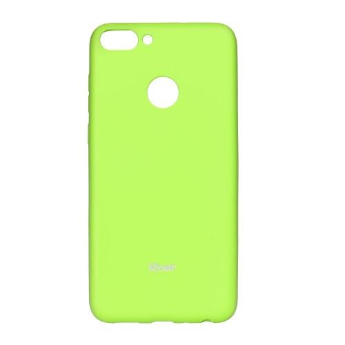 Гръб Roar Colorful Jelly - Huawei P Smart лайм