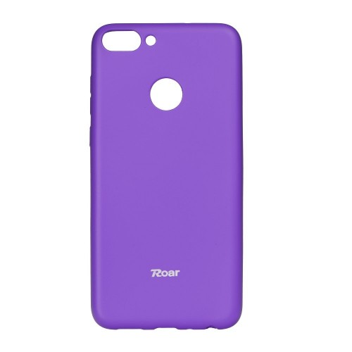 Гръб Roar Colorful Jelly - Huawei P Smart лилав
