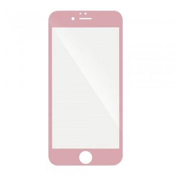 3D Протектор Full Glue Tempered Glass - Apple iPhone 8 Plus розов