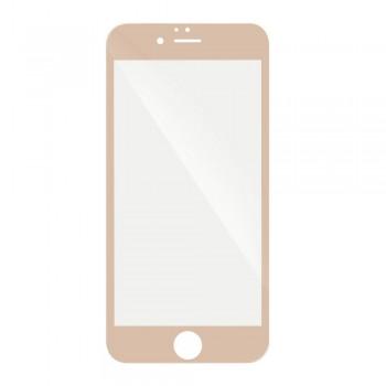 3D Протектор Full Glue Tempered Glass - Apple iPhone 8 Plus златен