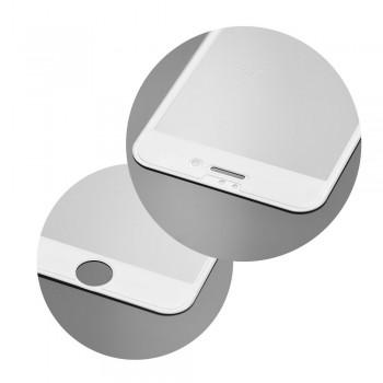 3D Протектор Full Glue Tempered Glass - Apple iPhone 8 Plus бял