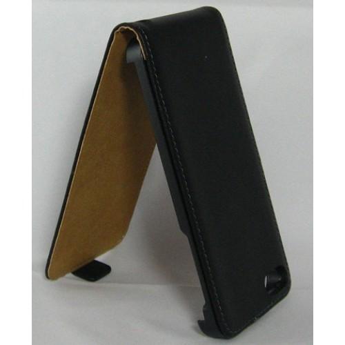 Вертикален калъф тефтер-флип за Huawei P6 черен