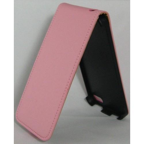 Калъф тефтер Slim flexi - Huawei P6 розов